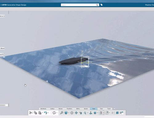 Transform a Scan into a Surface with CATIA 3DExperience