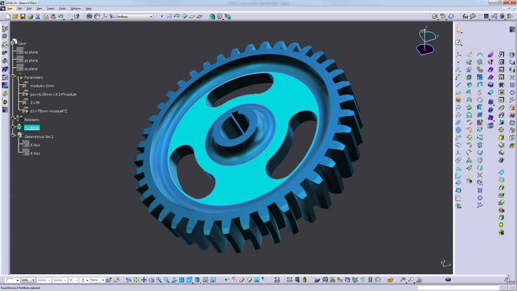 CATIA Customization