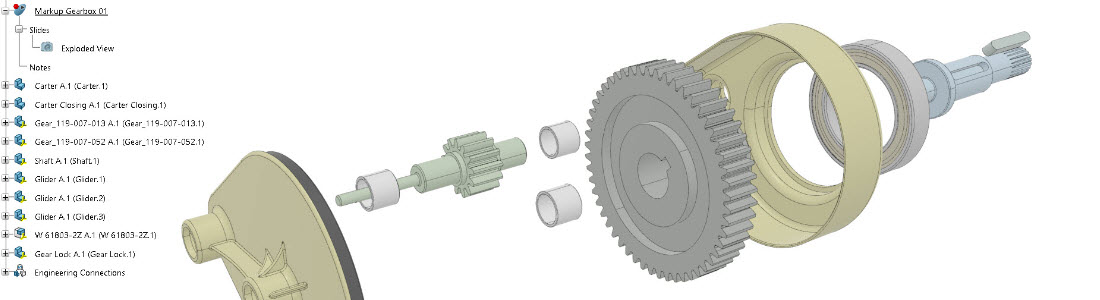 Exploded View 3DExperience